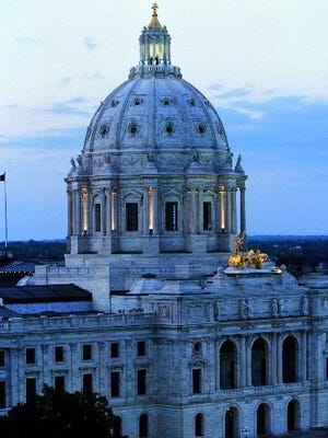 The Minnesota State Capitol stands in St. Paul.