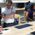 Christopher Holtz from Austria traveled to Palo Alto, Calif., to buy an Apple Watch on April 24 only to discover  it was sold out. He got a demo of the watch at an Apple store.