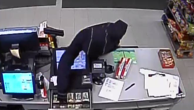 A phone tip lead Sheboygan Police to a suspect in armed robbery that happened Dec. 31.