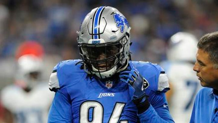 Lions' Ansah, Levy expected to miss more time beyond Packers game
