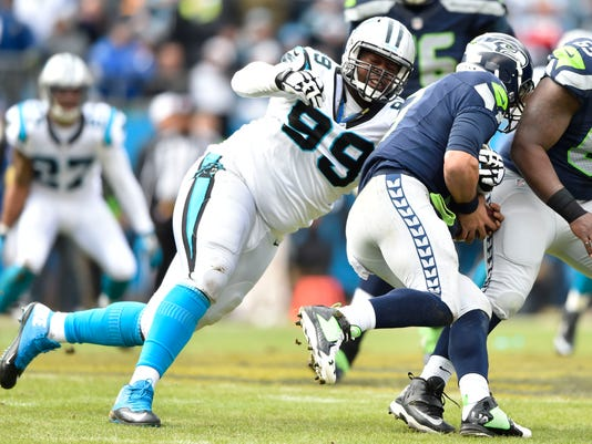 NFL: NFC Divisional-Seattle Seahawks at Carolina Panthers