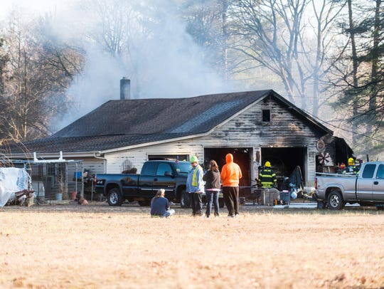 Vineland Fire Department responded to a garage fire