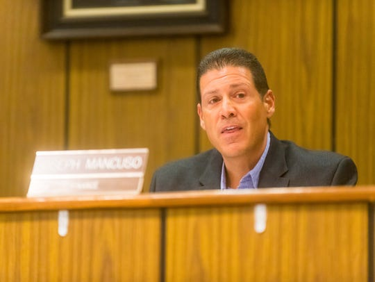 Buena Borough Councilman Joseph Mancuso voted against