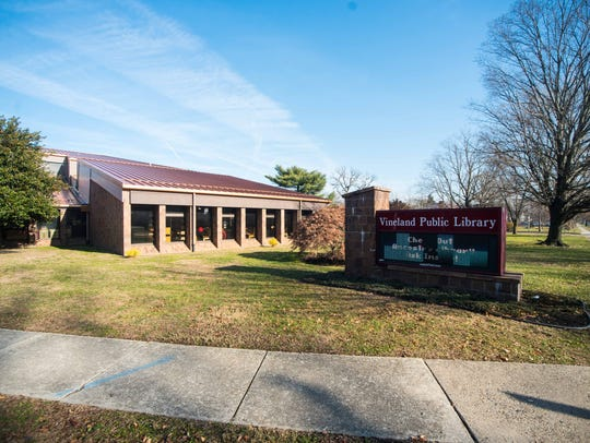 The Vineland Public Library on Monday, December 18.