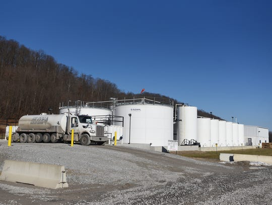 Buckeye Brine is located at the intersection of U.S. 36 and Airport Road. It opened in 2012 and injects liquid waste from the oil and natural gas industry underground. It is seeking permits from the Ohio EPA that would allow it to take other forms of non-hazardous liquid waste. A second hearing regarding the matter has been set for 6 p.m. April 15 at Coshocton High School.