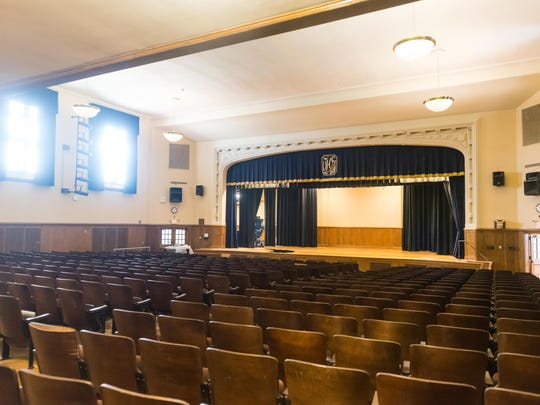 The auditorium for at the new Vineland Board of Education offices at Landis Intermediate on Tuesday, February 20.
