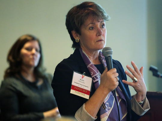 A statewide YMCA conference held was at Forsgate Country Club in Monroe on Thursday March 31, 2016.