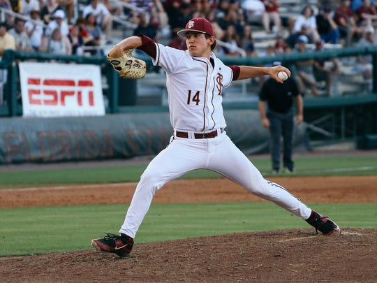 Tyler Holton has dominated as Florida State's ace this
