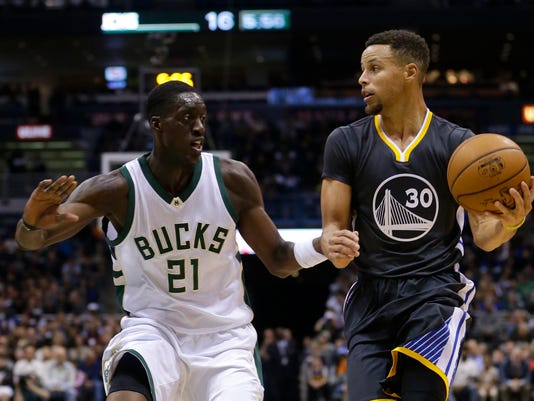 Stephen Curry, Tony Snell