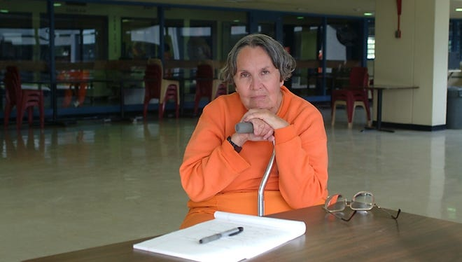 Betty Smithey shortly before her release from prison in 2012.