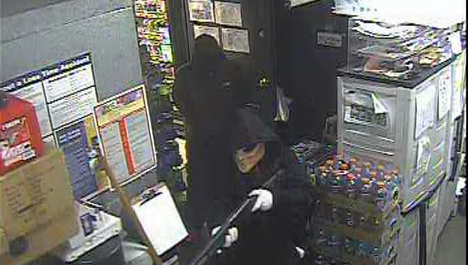 Surveillance footage from Express Mart located at 1015 Union Center Maine Highway in the Town of Union.