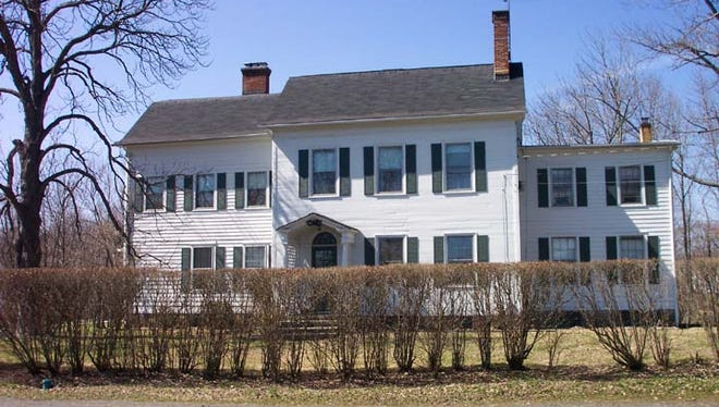The Smith-Baldwin house on South Beverwyck Road in Parsippany.