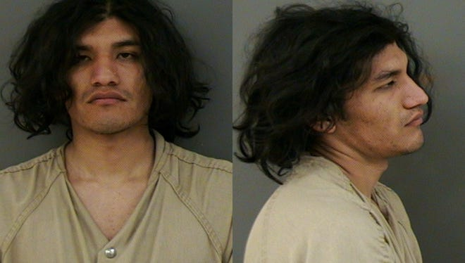 Linn County Sheriff's Office deputies arrested Flavio Renteria Robledo, 20, on charges of burglary, criminal mischief and vehicle theft.