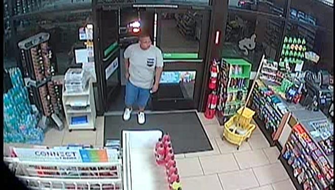 Cape Coral police are looking for help in identifying this man, a person of interest in a case involving aggravated stalking, arson and burglary.