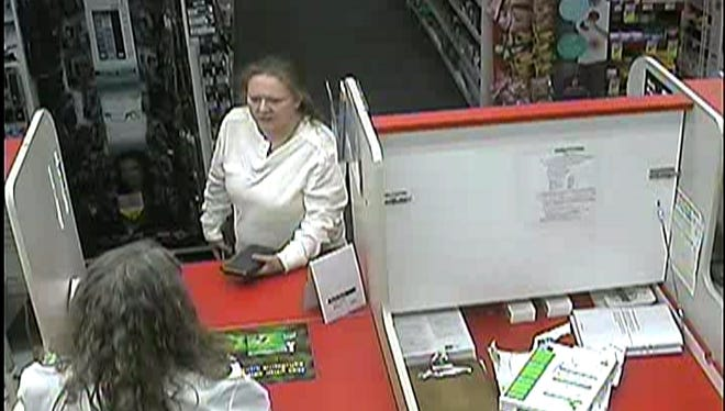 The Buncombe County Sheriff's Office searches for a female who they believe has forged prescriptions at several pharmacies.