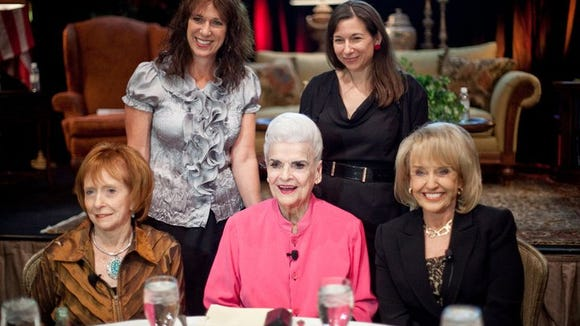 """At AZ Magazine's """"Woman of the Year"""" luncheon in 2011"""
