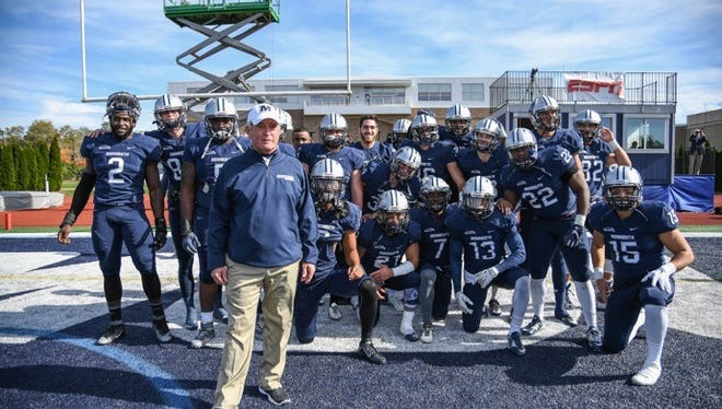 Monmouth University prepares to take the field Saturday afternoon against Kennesaw State