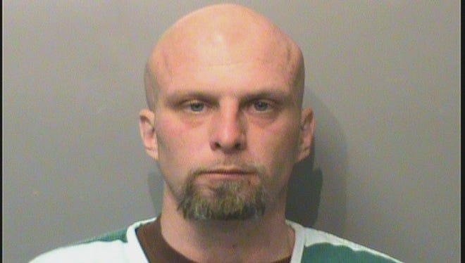 Kelly Sears, 33, of Des Moines, was arrested and charged with first-degree robbery, two counts of first-degree harassment and two counts of trespassing on Jan. 10. He is in Polk County Jail with a $29,600 bond.
