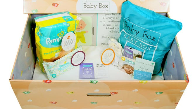 After completing the Ohio syllabus on BabyBoxUniversity.com, all new and expecting parents living in Ohio are eligible to receive a free Baby Box which includes newborn essentials such as Pampers Swaddlers diapers, Pampers baby wipes, Vroom activity cards from the Bezos Family Foundation, Lansinoh breast pads and nipple cream for breastfeeding mothers, onesie and more.