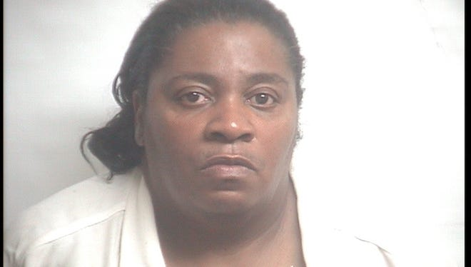 Police say 52-year-old Bertisha Rose Johnson has been denied bond after robbing St. Peter's Catholic Church in Onley on May 24.