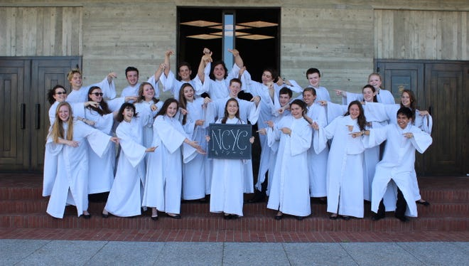 The National Catholic Youth Choir will present a mini-concert at 10 a.m. and perform at a 10:30 a.m. Mass on June 25.