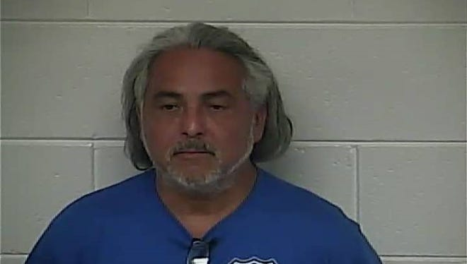 Jesus Chavez, 54, of Bedford Kentucky was arrested Wednesday in connection with human trafficking.
