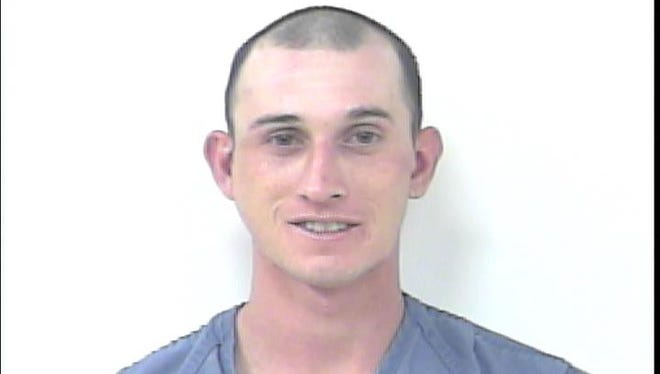 Justin Castaner, 29, was arrested on three felony and three misdemeanor charges.