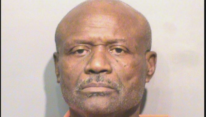 Jesse Lee Taylor, 62, was accused of stabbing his neighbor.