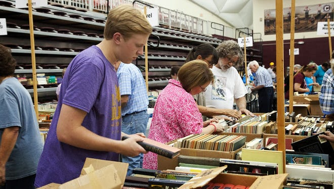 Centenary's annual book bazaar will be held Friday and Saturday in the Gold Dome.