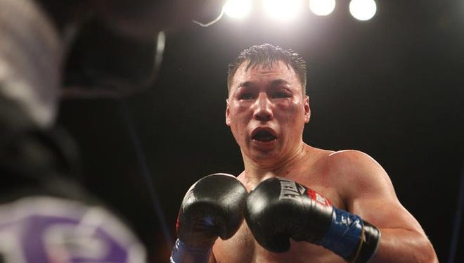 Timothy Bradley and Ruslan Provodnikov were awarded Ali Frazier Award Fight of the Year for the year 2013 by the Boxing Writers Association of America during the 89th annual awards dinner in Las Vegas on May 1, 2014.