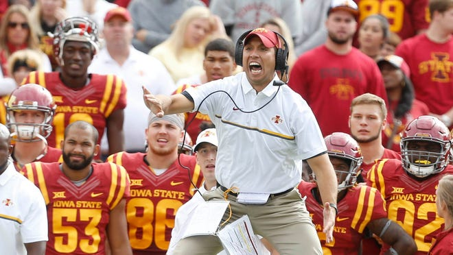 Iowa State coach Matt Campbell contacted about Michigan State opening