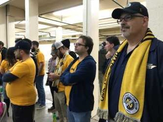 Nashville Soccer Club watch Tuesday's public hearing