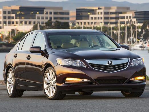 As the name implies, 2016 Acura RLX Sport Hybrid is