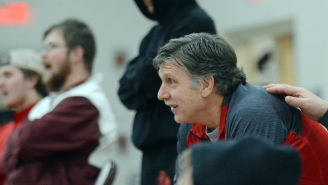Killingly wrestling coach Rich Bowen is the state's all-time career wins leader. Bowen will be inducted into the CHSCA Hall of Fame this fall.