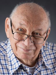 Irv Greenstein ofCedar Village Assisted Living Center in Mason, Ohio has an infectious smile.