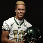 Incoming CSU wide receiver Bisi Johnson hopes his speed will make an early impact.