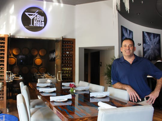 The first picture is of  Keith Paniucki, owner of Blu Halo.