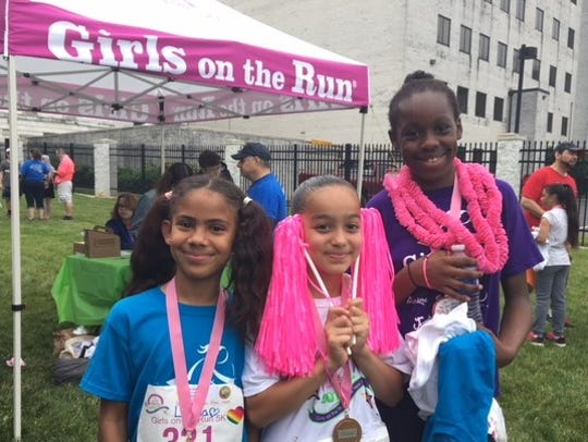 Girls on the Run is a national physical activity-based
