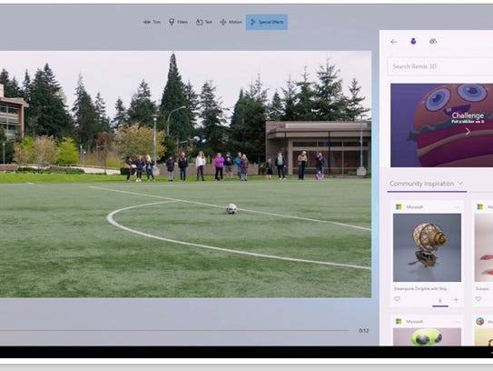 Microsoft demonstrates Windows Story Remix at Build