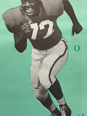 in 1964, Jerry Rush was named a first-team All-Big