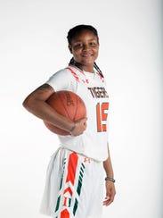 Dekeriya Patterson, Dunbar High School, Basketball