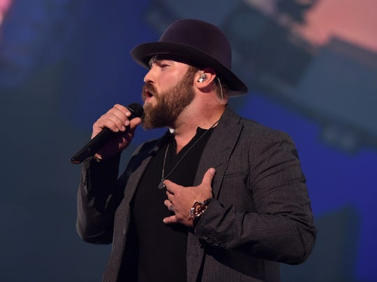 LAS VEGAS, NV - SEPTEMBER 19: Recording artist Zac Brown of the Zac Brown Band performs onstage during the 2014 iHeartRadio Music Festival at the MGM Grand Garden Arena on September 19, 2014 in Las Vegas, Nevada. (Photo by Kevin Winter/Getty Images for Clear Channel)