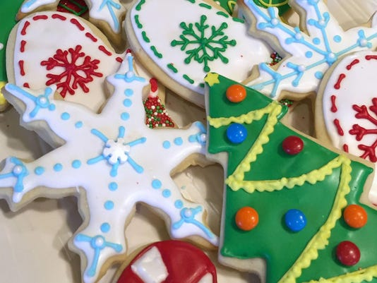 Simple, easy tips for rolling out perfect Christmas cut-outs