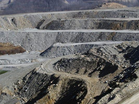 Title: THUNDER RIDGE MINE; Mining operation