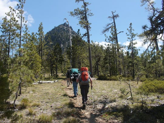 Black Butte Trail goes into the Siskiyou Wilderness.