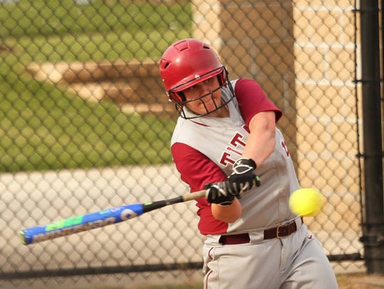 Gibson Southern's Lauren Lingafelter is one home run away from tying the school record held by Taylor Rogers.