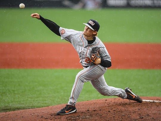 OSU's Bryce Fehmel tossed a five-hitter with 10 strikeouts