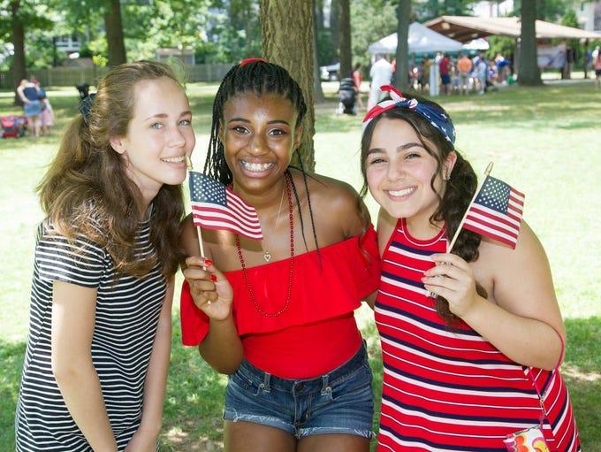 Abbie, Jess, Gianna. River Edge hosted its 2017 Family