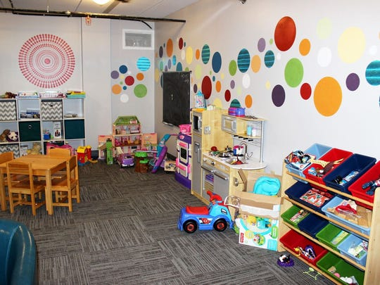 New Hopeful Hearts Playroom at Hope House is an addition for families with children.