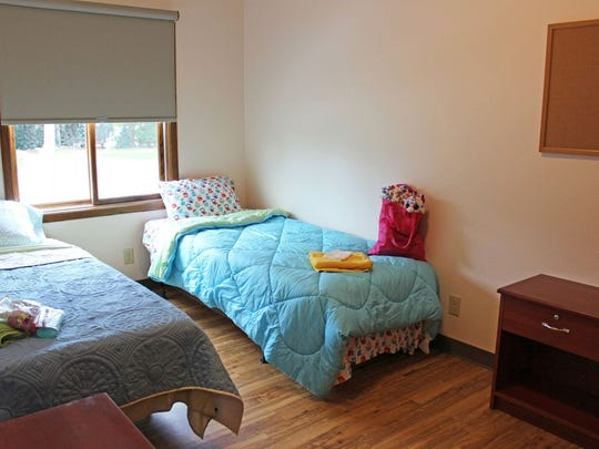 Eight bedrooms at Hope House can accommodate a total of up to 26 individuals including families.